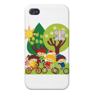 Kids on Bikes iPhone 4/4S Case