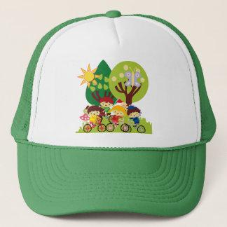Kids on Bikes Trucker Hat