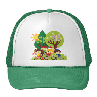 Kids on Bikes Trucker Hat