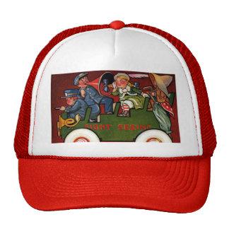 Kids on Tour Bus Sightseeing Trucker Hat