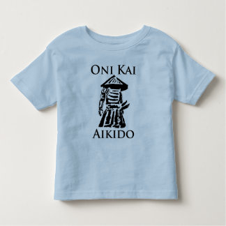 Kids Oni Kai Aikido T Toddler T-shirt