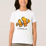Kids Orange Percula Clownfish T-Shirt