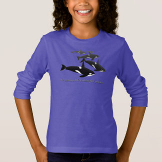 Kid's Orca Whale Shirt Save The Whales Sweatshirts