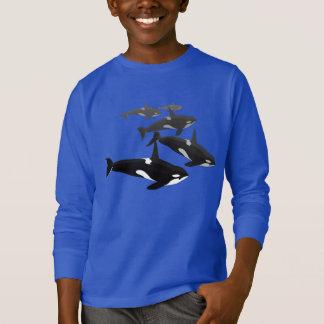 Kid's Orca Whale Sweatshirt Killer Whale Shirts