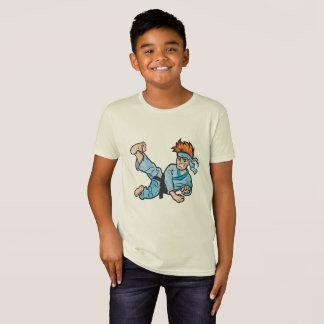 Kids' Organic T-Shirt, Natural with karate kid T-Shirt