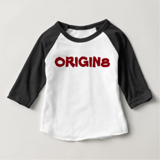 Kids Origin8 Brand AmericanApparel 3/4length shirt
