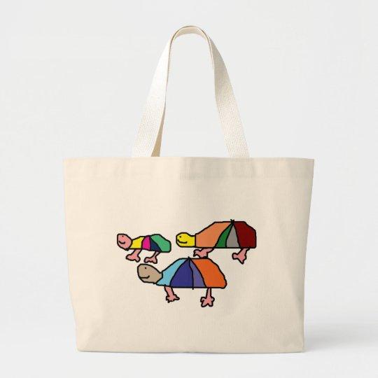 Kids Painting Large Tote Bag
