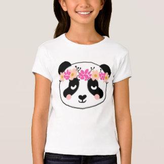 Kids Panda Shirt - little girls cute panda top