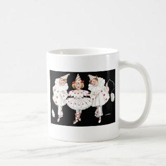 Kids Party Costume Clown Pierrot Coffee Mug