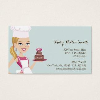 Kids Party Event Organizer Cake Designer Card