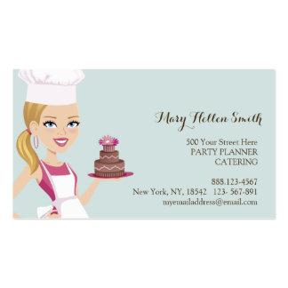 Kids Party Event Organizer Cake Designer Card Business Card