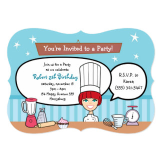 Kids Party Invitation Personalized