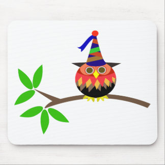 Kids Party: Owl Mouse Pad