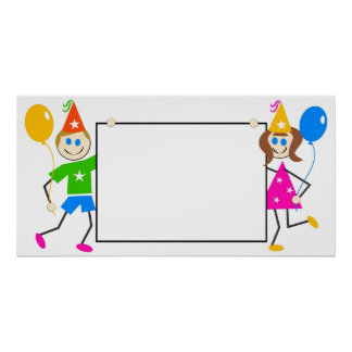 Kids Party Sign