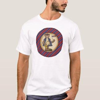 Kids Patrotic Teddy Bear T Shirt