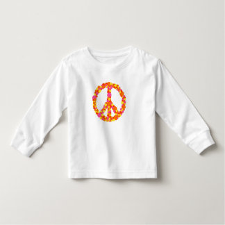 Kid's Peace Sign with Candy Colors Toddler T-shirt