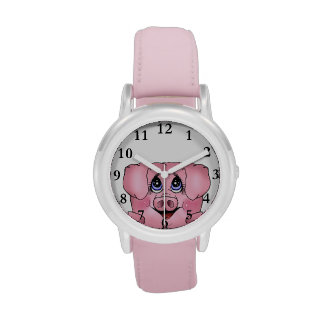 Kid's Peekaboo Piggy Watch