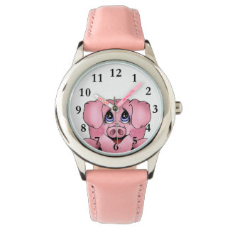 Kid's Peekaboo Piggy Watch