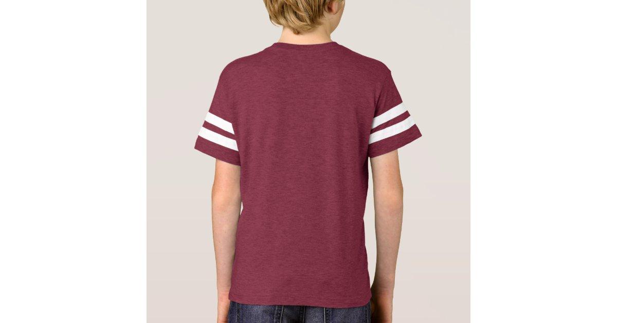 Kids personalized baseball jersey name and number t shirt for Baseball jersey t shirt custom