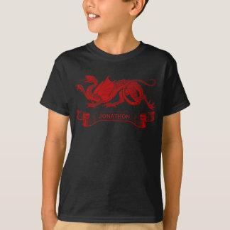 Kid's Personalized Dragon T-shirt