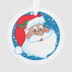 Kids Personalized From Santa Claus Ornament at Zazzle