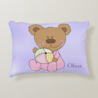 Kid's Personalized Pillow Teddy Bear Baby Toys