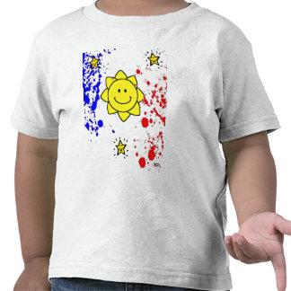 Kids Philippine flag shirt