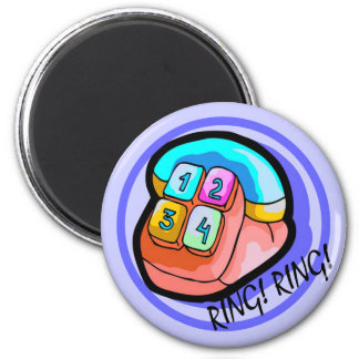 Kids Phone T Shirts and Kids Gifts 2 Inch Round Magnet
