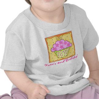 Kid's Pink Cupcake Tee Shirt