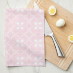 "Kid's Pink Turtle Monogram ""T"" Towel"