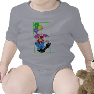 KIDS PLACE - CHIDLREN'S FASHION - FUNNY CLOWN ROMPERS