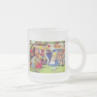 KIDS PLACE MUGS - ALICE IN WONDERLAND & THE QUEEN