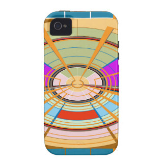 Kids Play ground beautifully decorated squares fun iPhone 4 Cases