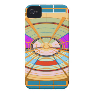 Kids Play ground beautifully decorated squares fun Case-Mate iPhone 4 Case