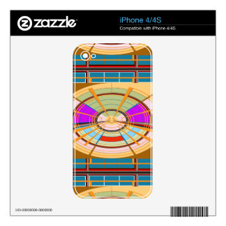 Kids Play ground beautifully decorated squares fun Decal For The iPhone 4S