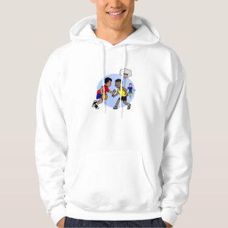Kids playing basketball sweatshirt