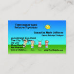 Kids Playing Outdoors on a Sunny Day Appointment Card