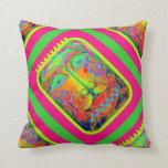 Kid's Playroom Fantasy Pillow by Sharles