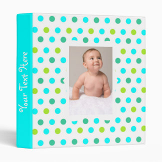 Kids Polka Dot Photo Album Binder