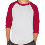 Kids'  Poly-Cot  3/4 sleeve baseball raglan SHIRT