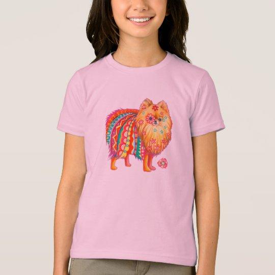 Kids Pomeranian Tshirt