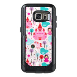 kids princess castle and unicorn OtterBox samsung galaxy s7 case