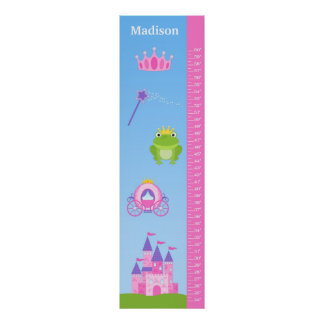 Kids Princess Growth Chart