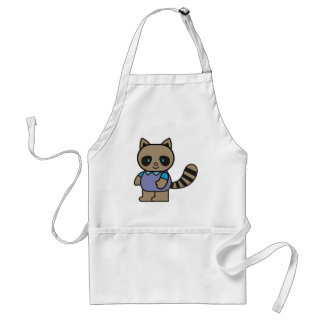 Kids Raccoon Apron