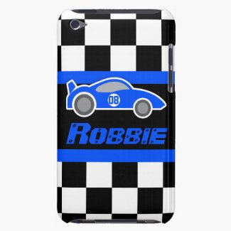 Kids Racing Sports Car iPod Touch Case
