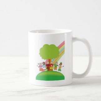 Kids Rainbow Mugs