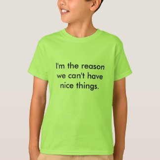 Kids - Reason Why T-Shirt