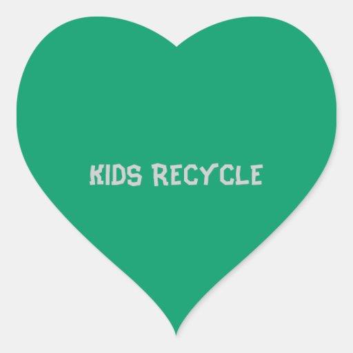 KIDS RECYCLE STICKER
