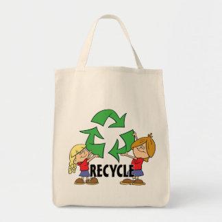 Kids Recycle Tote Bag
