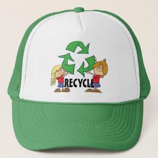 Kids Recycle Trucker Hat